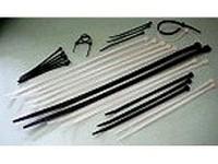 Kabelbinder Anwendungen - Kabelbinder, Transparent, Schwarz