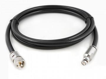 Ecoflex 10 mit BNC Stecker auf UHF Stecker, Länge 40m