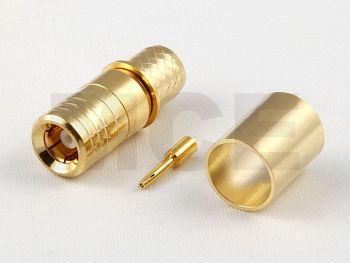 SMB Jack for H 155 / CLF 240, Inner Pin Female, Crimp
