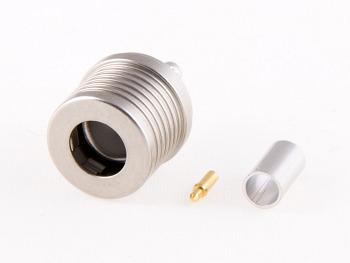 QLS Plug for RG316, TA, solder/crimp