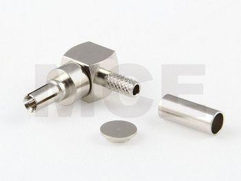 CRC 9 Plug R/A for RG 174 / 188 / 316, Crimp