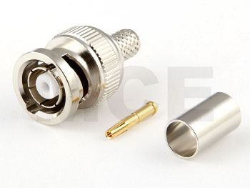 RP BNC Plug for H 155, Crimp