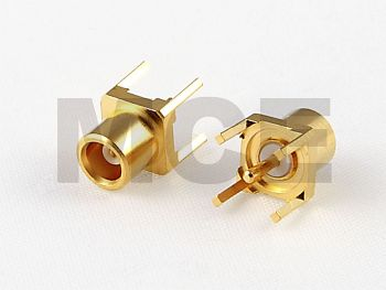 MCX Panel Jack for PCB Mount