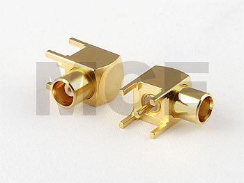 MCX Winkel Anbau Buchse für Leiterplatten Montage, PCB