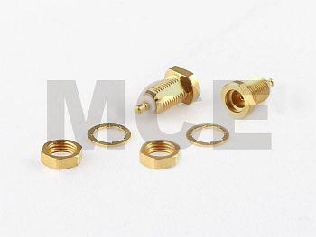 MMCX Einbau Buchse mit Lötanschluss
