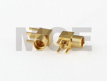 MMCX Winkel Einbau Buchse für Leiterplatten Montage, PCB