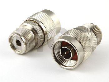 N Adapter, N Stecker auf UHF Buchse