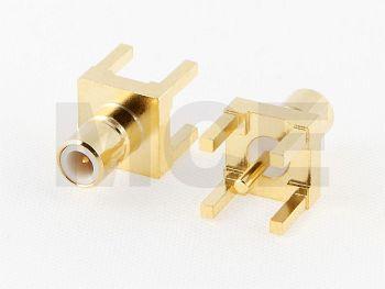 SMB Plug for PCB Mounting, Receptacle