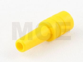 Strain Relief yellow for RG 178, Huber + Suhner