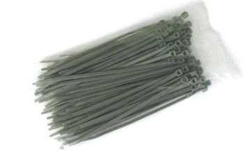 Cable Ties, gray, 4,8 x 202 mm