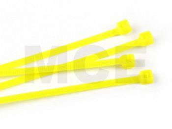 Kabelbinder Neon-Gelb 2,5 x 100 mm, Beutel mit 100 Stück