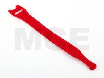 Klett Kabelbinder Rot 200 x 13 mm