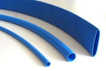 Shrink Tubing blue 2,4 / 1,2 mm, DERAY-H Meter-Goods