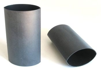Shrink Tubing black with adhesive, 24,0mm / 6,0mm, L=60mm