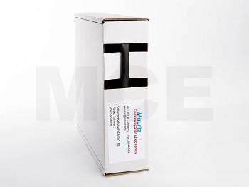 Schrumpfschlauch schwarz 6,4 / 3,2 mm, Box 10m DERAY-HB