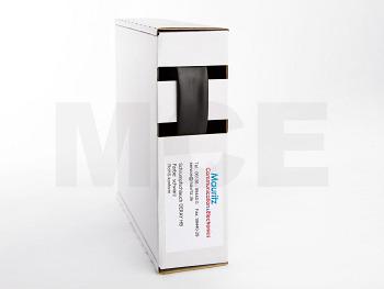 Schrumpfschlauch schwarz 12,7 / 6,4 mm, Box 7,5m DERAY-HB