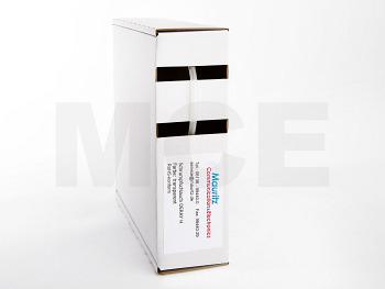 Schrumpfschlauch transparent 1,6 / 0,8 mm, Box 12m DERAY-HB