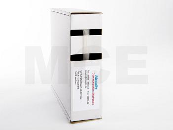 Schrumpfschlauch transparent 6,4 / 3,2 mm, Box 10m DERAY-HB