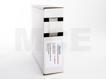 Schrumpfschlauch transparent 12,7 / 6,4 mm, Box 7,5m DERAY-HB