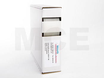 Schrumpfschlauch transparent 25,4 / 12,7 mm, Box 3m DERAY-HB