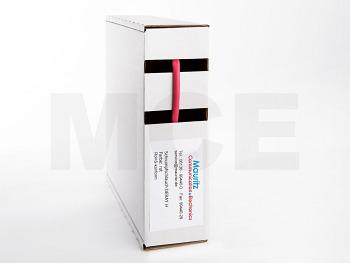 Schrumpfschlauch rot 3,2 / 1,6 mm, Box 12m DERAY-H