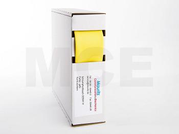 Schrumpfschlauch gelb 25,4 / 12,7 mm, Box 3m DERAY-H