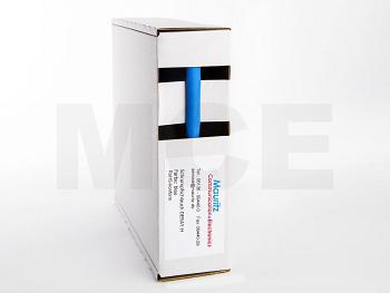 Schrumpfschlauch blau 6,4 / 3,2 mm, Box 10m DERAY-H