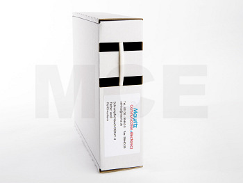 Schrumpfschlauch weiss 1,2 / 0,6 mm, Box 12m DERAY-H