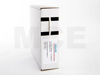 Schrumpfschlauch weiss 2,4 / 1,2 mm, Box 12m DERAY-H