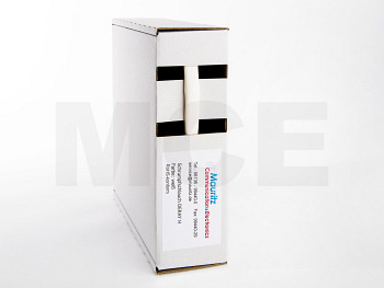 Schrumpfschlauch weiss 4,8 / 2,4 mm, Box 11m DERAY-H