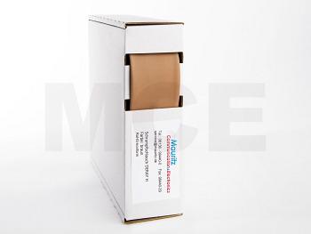 Schrumpfschlauch braun 25,4 / 12,7 mm, Box 3m DERAY-H