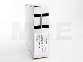 Schrumpfschlauch grau 1,6 / 0,8 mm, Box 12m DERAY-H