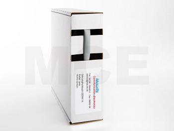 Schrumpfschlauch grau 6,4 / 3,2 mm, Box 10m DERAY-H