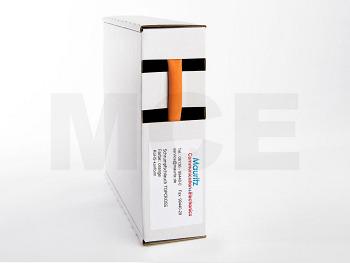 Schrumpfschlauch orange 6,4 / 3,2 mm, Box 10m TOPCROSS