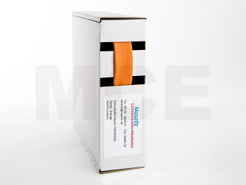 Schrumpfschlauch orange 19,0 / 9,5 mm, Box 4,5m TOPCROSS