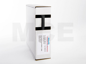 Shrink Tubing black 6,4 / 2,0 mm, Box 6m DERAY-I 3000