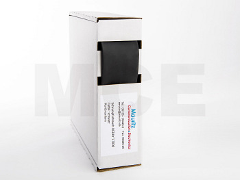 Schrumpfschlauch schwarz 25,4 / 8,0 mm, Box 2m DERAY-I 3000