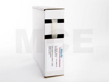 Schrumpfschlauch transparent 6,4 / 2,0 mm, Box 6m DERAY-I 3000