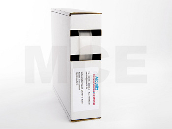 Schrumpfschlauch transparent 12,7 / 4,0 mm, Box 4m DERAY-I 3000