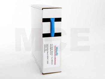 Schrumpfschlauch blau 4,8 / 1,5 mm, Box 6m DERAY-I 3000