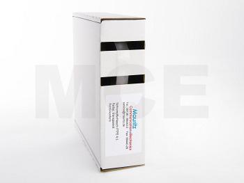 Box, 5m PTFE Schrumpfschlauch, transparent, 9,52 / 2,44 mm