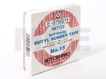 NITTO Nr. 15, self fusing tape, 19mm x 5m