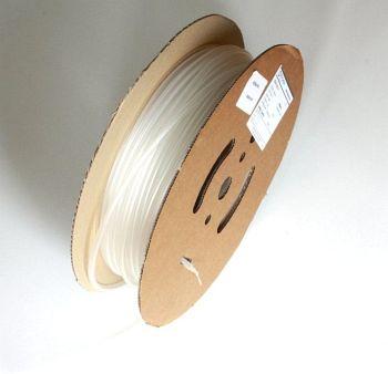 Schrumpfschlauch transparent 2,4 / 1,2 mm, 150m Spule DERAY-HB