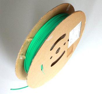 Shrink Tubing green 9,5 / 4,8 mm, 75m Reel DERAY-H
