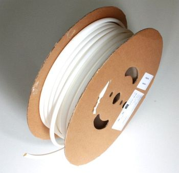 Shrink Tubing white 12,7 / 6,4 mm, 50m Reel DERAY-H