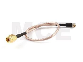 RG 316 mit Lucent-Stecker auf RP-SMA-Stecker, RG 316 mit Länge 20cm