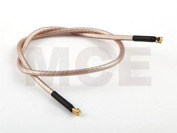 Pigtail, I-PEX to I-PEX, RG 316, Length 32cm