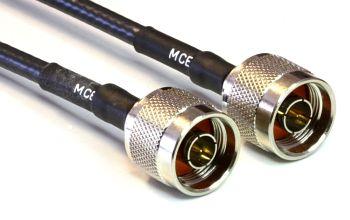 H 155 mit N Stecker auf N Stecker, Länge 50cm