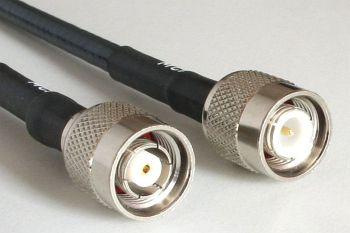 H 155 mit RP TNC Stecker auf TNC Stecker, Länge 15m