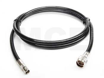 Ecoflex 10 Coaxial Cable assembled with N Male to TNC Female Crimp, Length 15m